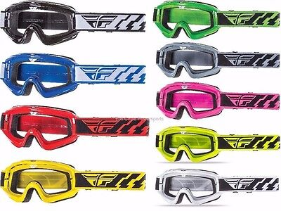 Fly Racing Focus Goggles Motorcycle Racing Dirt Bike MX ATV Adult & Youth -