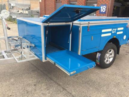 HARD FLOOR OFF ROAD CAMPER TRAILER ,ON SALE NOW