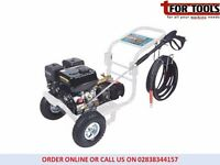 Jefferson 9hp Petrol Pressure Washer Gear Box Driven 3000psi