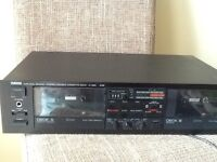 YAMAHA K-222 Natural Sound Stereo Double Cassette Deck