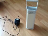 Ottlite rechargeable desk lamp natural light bulb comes with power adaptor