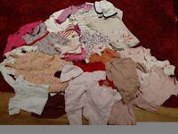 Baby girl clothes bundle size 0/3m ; 3/6m: 6/9m