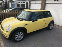 MINI HATCHBACK 1.6 PETROL PANORAMIC ROOF MOT 28/06/2018 READY TO GO CHEAP ON FUEL