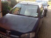 Peugeot 106 diesel spares or repair