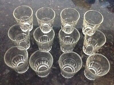 Wholesale Shot Glasses (18 Shot Glasses 1.5 oz Glass Barware Shots Drink Vodka Gin Tequilla Rum)