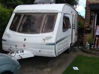Abbey Vogue GTS 217, 2 Berth caravan for sale £3995