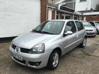 Renault Clio Campus 1.1ltr 3 door great example of this small engine low insurace car ** REDUCED**