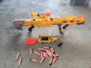 Nerf gun set Angle Park Port Adelaide Area Preview