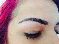 Eyebrow semi permanent treatments