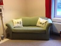 Green sofa bed for sale