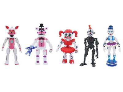 5'' Five Nights at Freddy's Sister Location Figures Baby FNAF toys Gift USA SELL