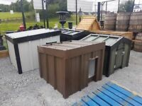 FULLY INSULATED STEEL DOG BOXES