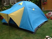 3/4 man dome tent
