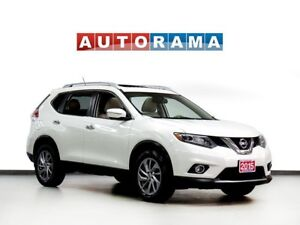 2015 Nissan Rogue SL NAVIGATION LEATHER PAN SUNROOF 4WD BACKUP C