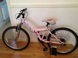 """Girls bike 24"""" wheel frame Apollo kinx"""