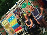 Cleaners for BOOMTOWN FESTIVAL - 10 to 14 August - working with a great team on the Compost Toilets!
