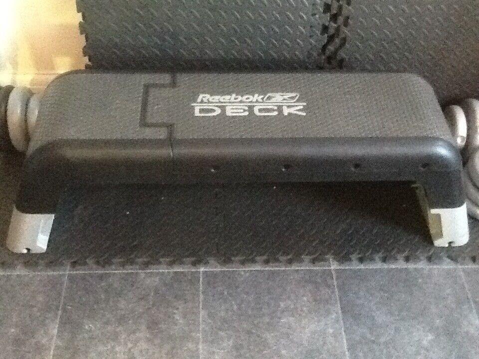 4c5762a5638 Reebok deck aerobic step and workout bench