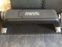 Reebok deck aerobic step and workout bench