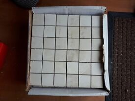 8 complete loose sheets mosaic tiles