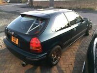 Honda Civic EK4 VTI B16A2 1998 - rollcage - coilovers - decent spec - track modified drift ek