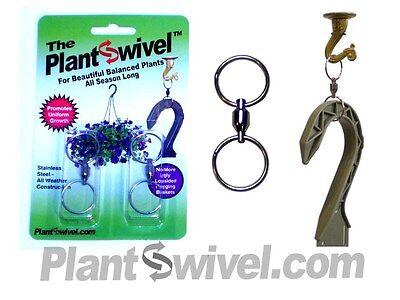Hanging Basket Plant Swivel Hook Hanger Plantswivel 2pk
