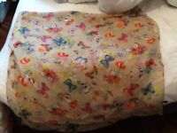 Butterfly breast feeding cover