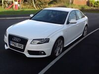 Audi A4 2.0 TDI S Line Special Edition White