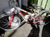 Teenage Boys 24 inch - Apollo FS26 Mountain Bike