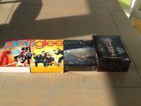 DVD box sets.