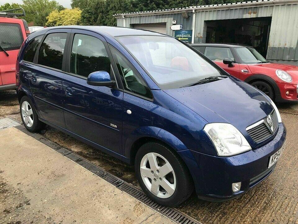 ** NEWTON CARS ** 04 54 VAUXHALL MERIVA 1 8 DESIGN MPV, 112K, ALLOYS,  TINTS, MOT JAN 2020, P/EX POSS | in Norwich, Norfolk | Gumtree