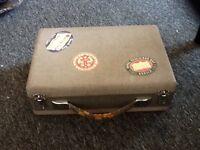 Small vintage luggage box