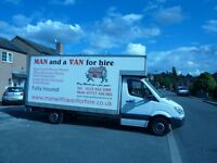 MAN AND VAN FOR HIRE NOTTINGHAM Fully signed writed van !