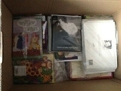 Job lot, wholesale bulk listing of 75 mixed greeting cards