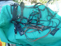A set of Cottage Craft synthetic pony harness, great condition.