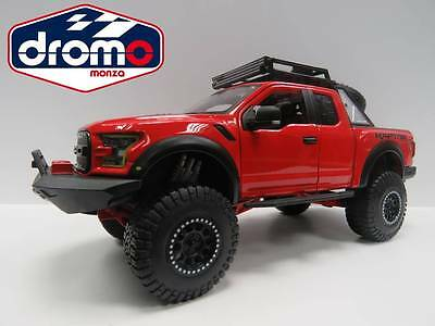 1/24 BURAGO/MAISTO - FORD F-150 RAPTOR 2017 -  MAISTO DESIGN OFF-ROAD KINGS usato  Italia
