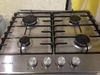 samsung stainless steel 4 burner gas hob