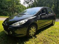 2007 PEUGEOT 307 1.4 IDEAL SMALL FAMILY CAR CHEAP ON FUEL TAX AND INSURANCE MOT UNTIL MAY 2018