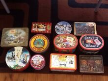 ASSORTED OLD TINS INCLUDING ARNOTTS. Fennell Bay Lake Macquarie Area Preview