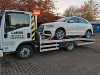 Carrs Recovery & Light Haulage