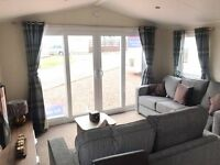 2 BEDROOM STATIC CARAVAN FOR SALE ON THE NORTH EAST COAST - PET FRIENDLY - FEES INCLUDED - 12 MONTH