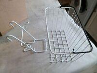 removable bike basket