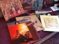 60 LP vinyl records,
