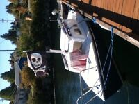 Moorage paid till end of year