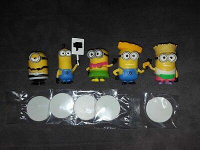 5 verschiedene Minions Sammelfigur Lot Serie Ich einfach unverbesserlich 3 NEU ()