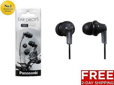 NEW PANASONIC ERGOFIT IN-EAR SOFT EARBUD HEADPHONE BLACK COLOR OPTIONS AVAILABLE