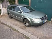 VW Passate TDi estate. MOT'd great runner. Spares/repairs, want smaller car