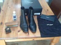 SAINT LAURENT CHELSEA BOOT WYATT 40, SIZE 10UK/44EU
