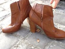 Short leather boots Mosman Mosman Area Preview