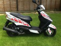 Yamaha Cygnus 125cc Scooter Low Mileage + Extras