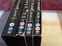 Heros DVD season. 1/2/3/4